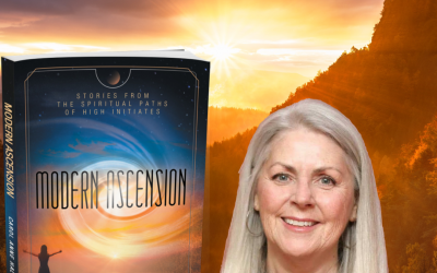 Modern Ascension with image of Carol Anne Holstead, lady smiling